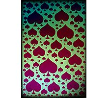 The Aces of Spades Photographic Print