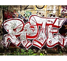Graffiti Street Art Photographic Print