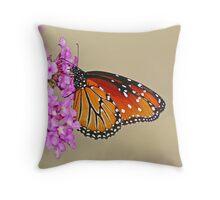 Monarch Mimic Throw Pillow