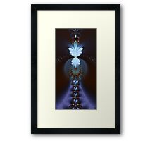 The Fractal Stairway to Paradise Framed Print