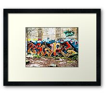 Graffiti Street Art #2 Framed Print