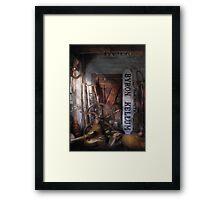 Black Smith - Byron Kellum Blacksmith Framed Print