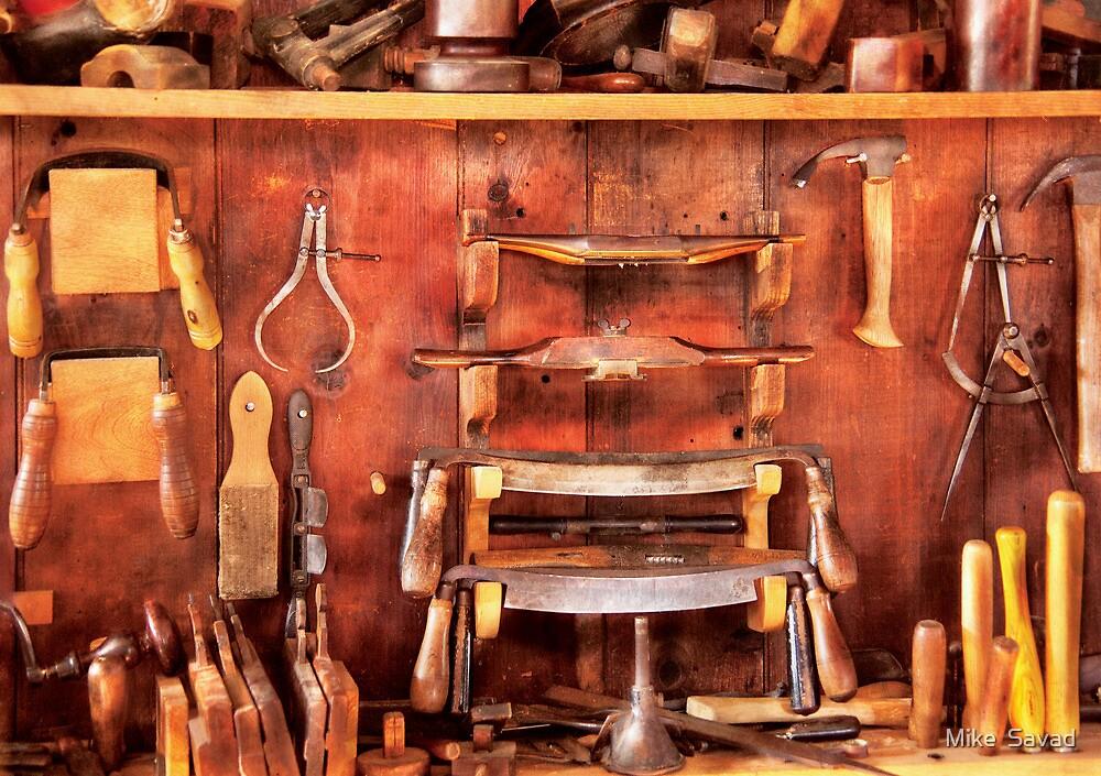 Carpenter - Spoke Shaves by Mike  Savad