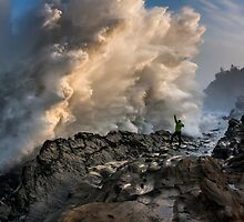 Shore Acres, Oregon Monster Wave by isodestination