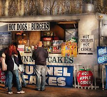 Hot dogs & Funnel cakes by Mike  Savad
