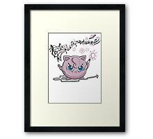 Jiggly-Puff Tagging Tees Framed Print