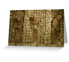 Capuchin Crypt - Rome, Italy Greeting Card