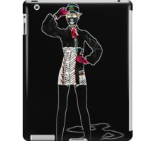 Fashion Model Fine Art Print iPad Case/Skin