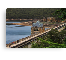 Cataract Dam #2 Canvas Print