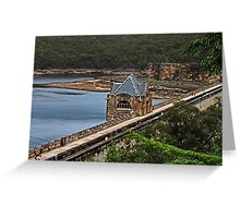 Cataract Dam #2 Greeting Card
