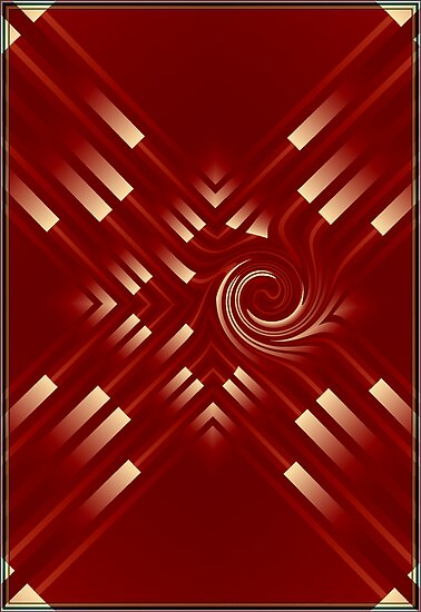 Red Abstract by plunder
