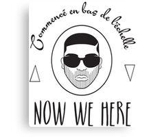 NSL Drake Canvas Print