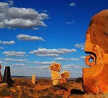 Scupture at Broken Hill by Boadicea