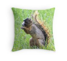 Tails Up Throw Pillow