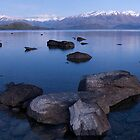 Lake Wanaka Panorama by Anthony and Kelly Rae