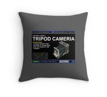 Dorthea Lange's Tripod Camera Throw Pillow