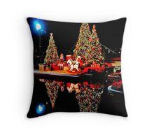 Reflection of Christmas Throw Pillow