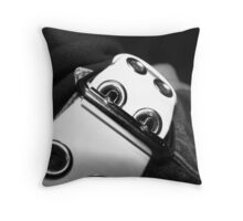 Belt Buckle Throw Pillow