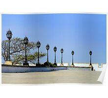 Piazza, Cadiz, Spain Poster