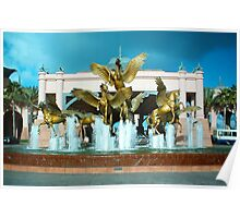 Winged Horses Poster