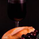 Bread and Wine by Jeffrey  Sinnock
