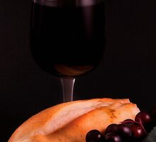 Bread and Wine by Jeffrey  Sinnock