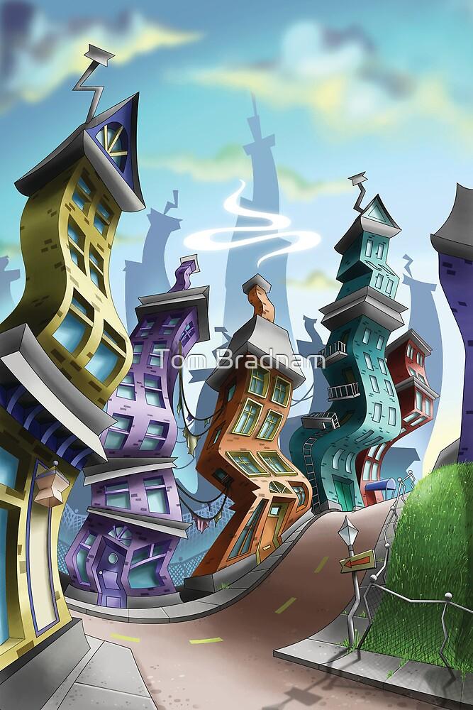 Crazy City 3 by Tom Bradnam