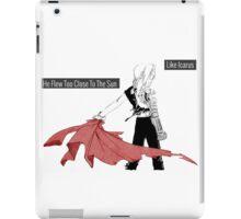 Edward Elric-Icarus iPad Case/Skin