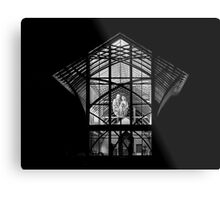 Holy Family Shrine - Night Metal Print