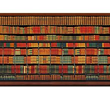 Vintage Library Photographic Print