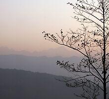 Sunrise in Nepal by Brooke Findlay