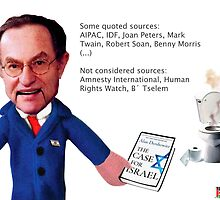 Dershowitz -The case of israel by Poderiu ^