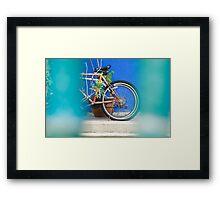 Wheels of Penang Framed Print