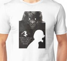 Attack On Titan-To defeat a monster Unisex T-Shirt