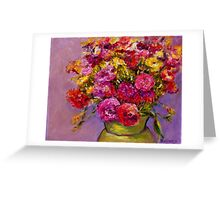 Theda's Flowers  Greeting Card