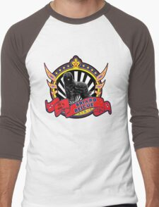 Briard Rescue logo with natural black dog T-Shirt