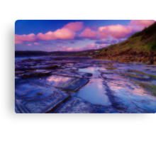 """Morningtide Mirrored"" Canvas Print"