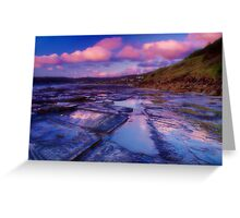 """Morningtide Mirrored"" Greeting Card"