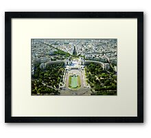 Tilted Reality Framed Print