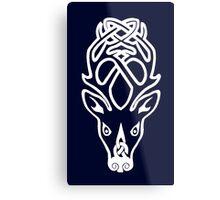 Skyrim Falkreath Seal Metal Print