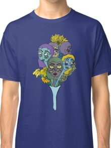 Ghostly Figures and Flowers 4 Classic T-Shirt