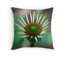 Healing Flower Throw Pillow