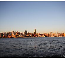 NY Skyline by Michael J. Cargill