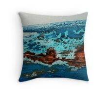 Abstract Boats- 02 'landscape' Throw Pillow