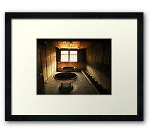 Washroom From Hell Framed Print