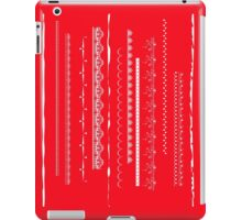 Crazy lace on red iPad Case/Skin