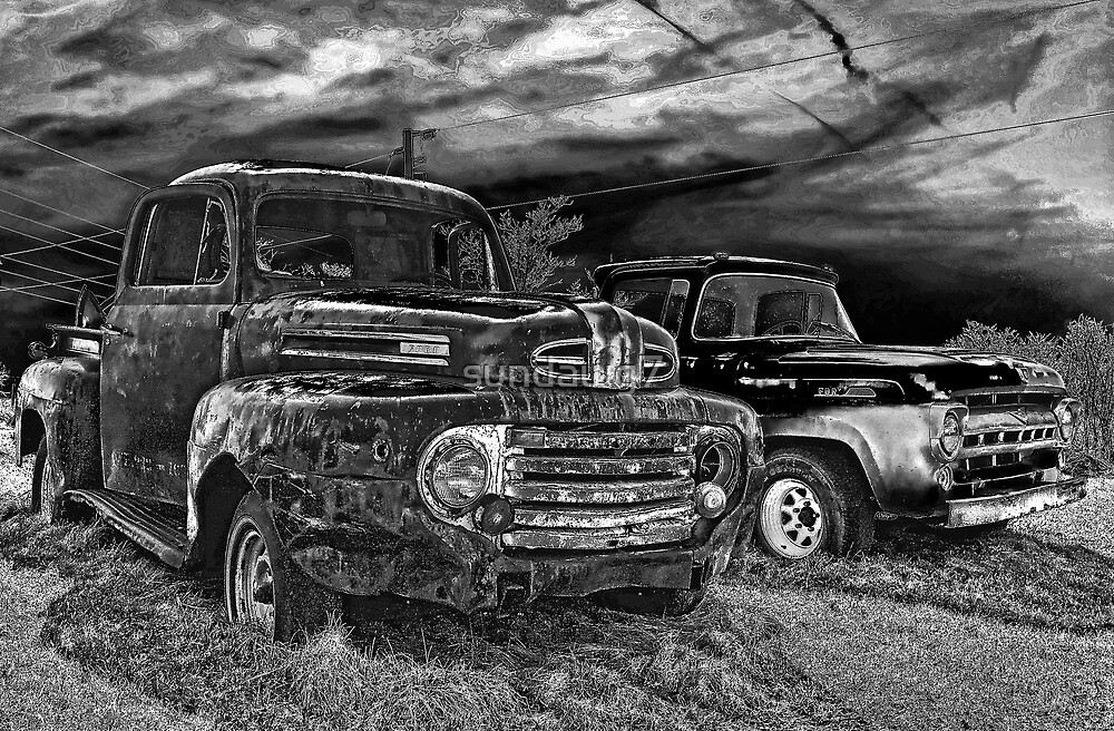Derelict Pick-Ups by sundawg7