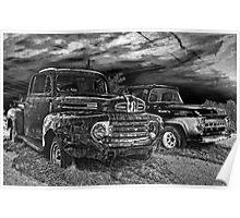 Derelict Pick-Ups Poster