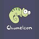 C for Chameleon by Gillian J.