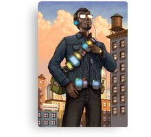 The Gadgeteer Canvas Print